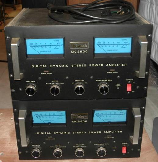 MC2600 McIntosh HiFi-Do McIntosh/JBL/audio-technica/Jeff Rowland ...